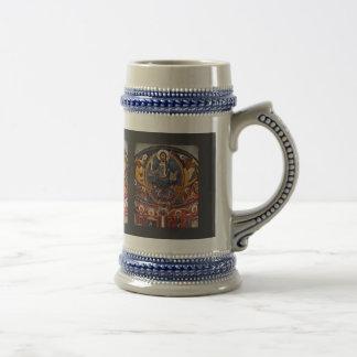 Majestas Domini del Apse de San Clemente Deta Tazas De Café