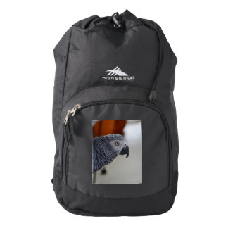 Majestic African Grey Parrot High Sierra Backpack