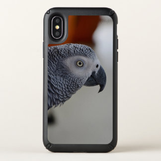 Majestic African Grey Parrot Speck iPhone X Case