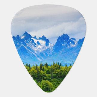 Majestic Alaska Mountains Guitar Pick