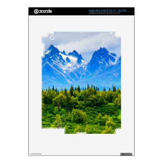Majestic Alaska Mountains Decals For iPad 3