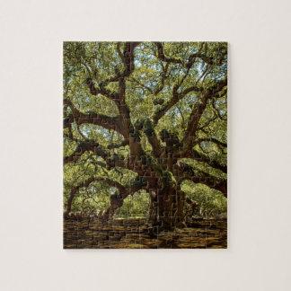 Majestic Angel Oak Jigsaw Puzzle