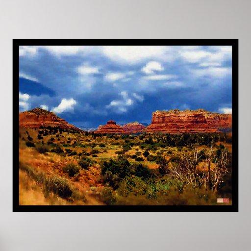 Majestic Arizona Desert 1 Poster