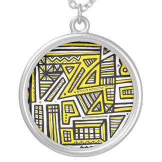 Majestic Awesome Amazing Funny Round Pendant Necklace