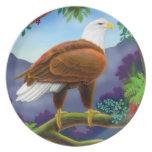Majestic Bald Eagle Plate