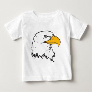 Majestic bald eagle side portrait illustration baby T-Shirt