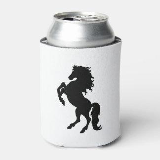 Majestic Black Stallion / Horse Can Cooler