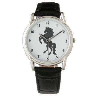 Majestic Black Stallion / Horse Watch