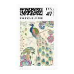 Majestic Blue Peacock Postage