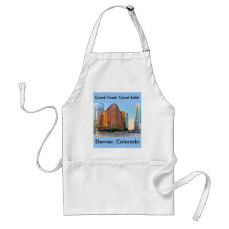 Majestic Brown Palace Hotel At Sunset, Denver, CO Adult Apron