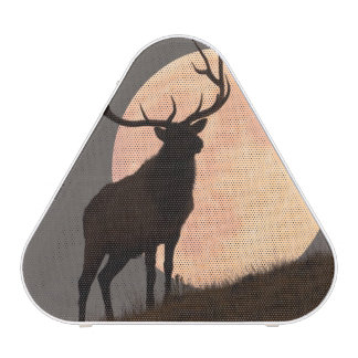 Majestic Bull Elk and Full Moon Rise Speaker