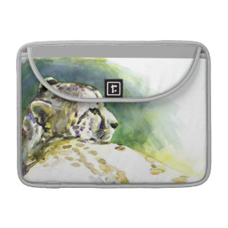 Majestic Cheetah Flap Sleeve Sleeve For MacBooks