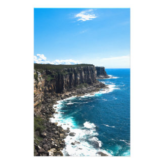 Majestic Cliffs with an Ocean View Stationery