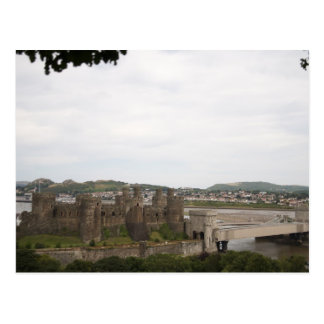 Majestic Conwy castle Postcard