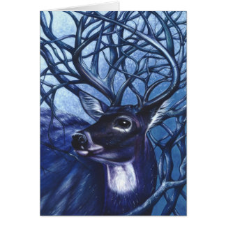Majestic Deer Greeting Card