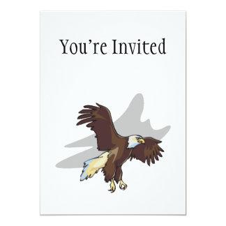 Majestic Eagle 5x7 Paper Invitation Card