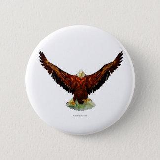 Majestic Eagle Button Pin