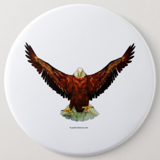 Majestic Eagle Button Pins