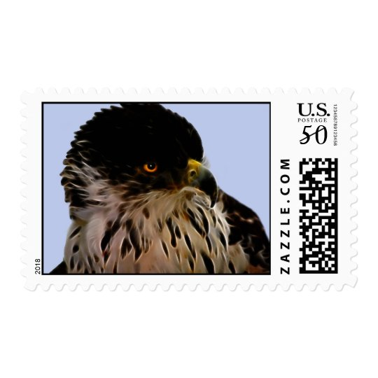 Majestic eagle postage