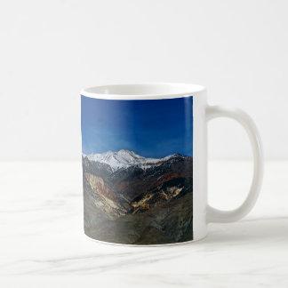 MAJESTIC EARLY SPRING MOUNTAIN LANDSCAPE COFFEE MUG