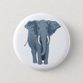 Majestic Elephant Button