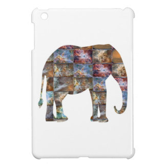 Majestic Friendly Animal Elephant Marble Tiles Case For The iPad Mini