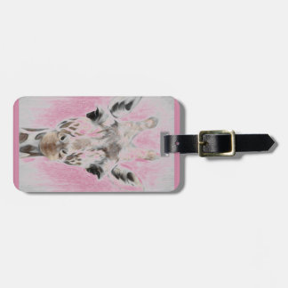 Majestic Giraffe Portrayed multiproduct selected Luggage Tag