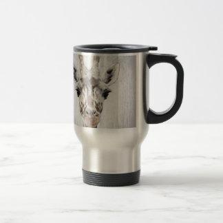 Majestic Giraffe Portrayed multiproduct selected Travel Mug