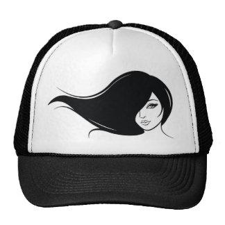 Majestic girls mesh hats