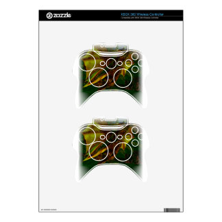 Majestic Gold Dragon Xbox 360 Controller Decal