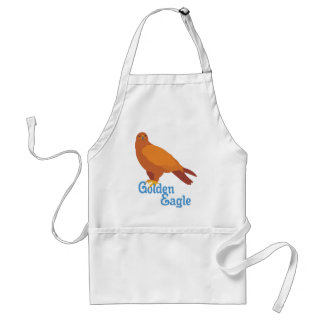 Majestic Golden Eagle Adult Apron