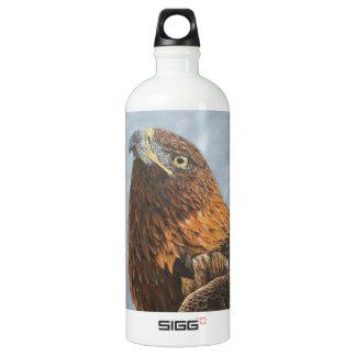 Majestic Golden Eagle Aluminum Water Bottle