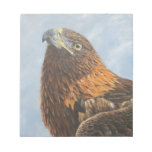 Majestic Golden Eagle Memo Pad