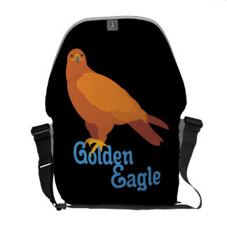 Majestic Golden Eagle Messenger Bag