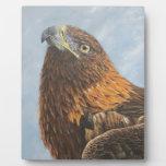 Majestic Golden Eagle Photo Plaques