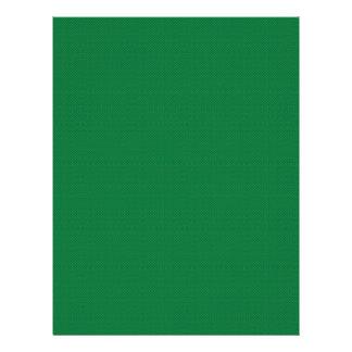 "Majestic green flowers on dark green background 8.5"" x 11"" flyer"