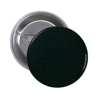 Majestic green pattern on black background button