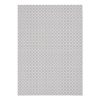 Majestic grey flowers on rough white background card