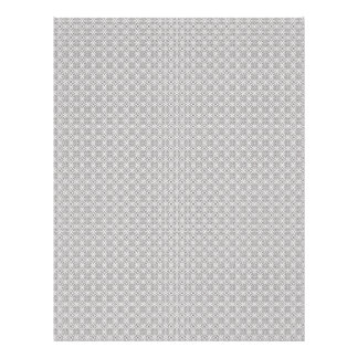 Majestic grey flowers on rough white background flyer
