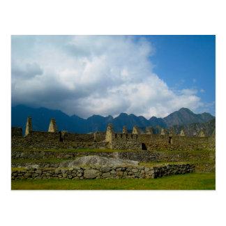 Majestic Homes of Macchu Picchu Postcard