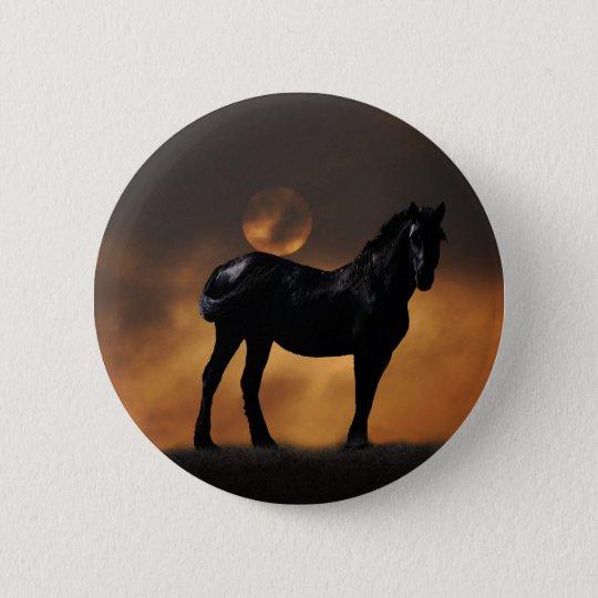 Majestic horse button