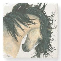 Majestic Horse by Bihrle Stone Coaster