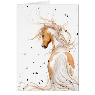 Majestic Horse Palomino by BiHrLe Card
