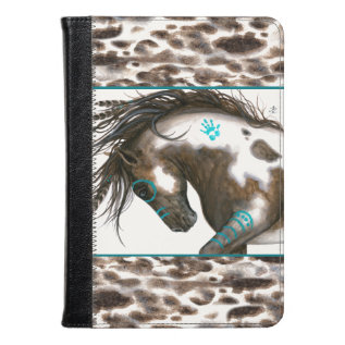 Majestic Horse Turquoise by Bihrle at Zazzle