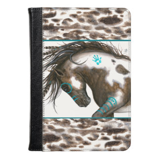 Majestic Horse Turquoise by Bihrle Kindle Case