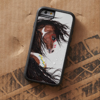 Majestic Horse Two Feather by Bihrle Cell Case Tough Xtreme iPhone 6 Case