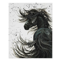 Majestic Horses by BiHrLe Poster