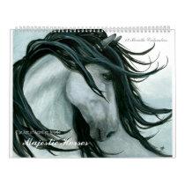 Majestic Horses I By Bihrle Calendar