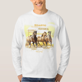 Majestic Horses Long Sleeve T-Shirt