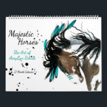 """Majestic Horses The Art of AmyLyn Bihrle Calendar<br><div class=""""desc"""">Majestic series of original horse paintings by AmyLyn Bihrle.</div>"""